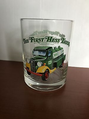 "Hess Truck Glass Cup ""The First Hess Truck"" 1996 Series MINT!!!"