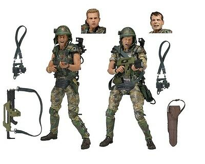 """NECA - Aliens - 7"""" Colonial Marines Action Figure 2-Pack"""