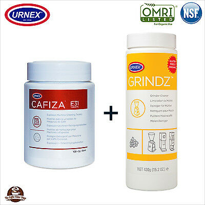 Urnex Cleaner & Grinder Cleaning Kit for Espresso Coffee Machines
