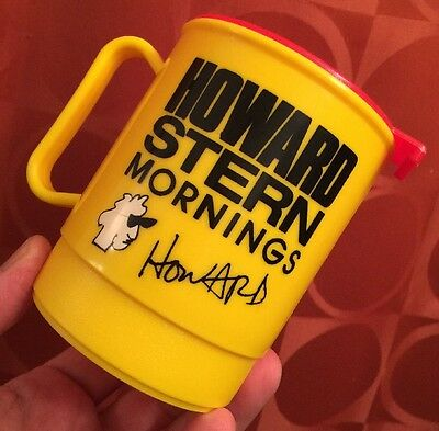 SUPER RARE Unused HOWARD STERN K-ROCK 92.3 FM VINTAGE 1980s COFFEE MUG WXRK NYC