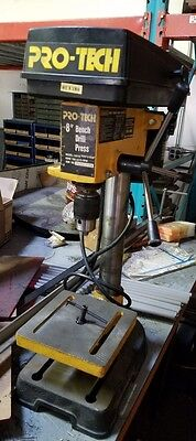 "PRO-TECH 8"" Benchtop Drill Press, 1/2 HP used"