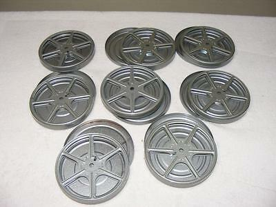 """8mm Film 8 Empty 5"""" Reels and Canisters"""