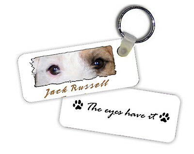 Jack  Russell  Terrier   The  Eyes Have It   Key  Chain