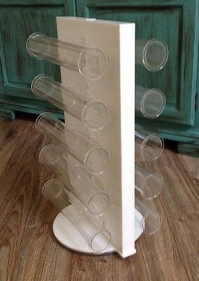 """Lucite Rotating 2-Sided Bracelet Jewelry Acrylic Display Store Fixture 13 X 21"""""""