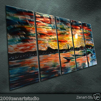 Modern Original Metal Art Abstract Special Shining Indoor Outdoor Decor-Zenart