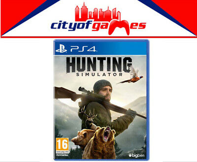 Hunting Simulator PS4 Game New & Sealed Free Express Post In Stock