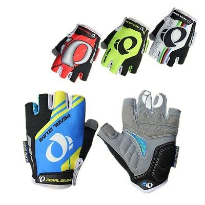 MTB Road Cycling Bike Bicycle racing Half Finger Glove Short Fingerless Gloves