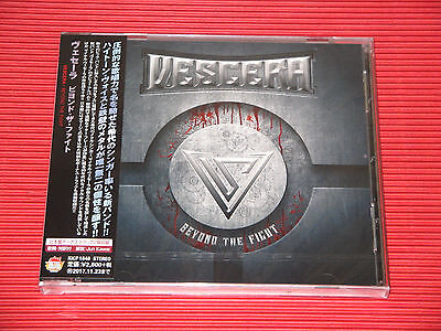 2017 JAPAN CD MIKE VESCERA Beyond The Fight  with 2 Bonus Track  TOTAL 11 TRACKS