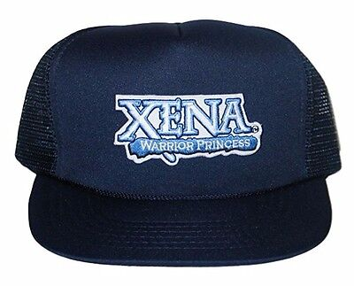 Xena Warrior Princess TV Show Name Patch Baseball Hat