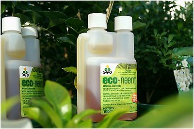 OCP Eco Neem Oil Organic Botanical Insecticide 100ml Kills Mites Aphids Whitefly