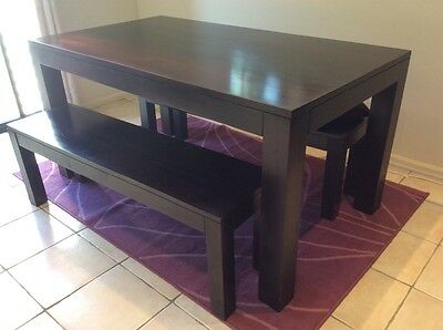 Dinning Table and 2 benches