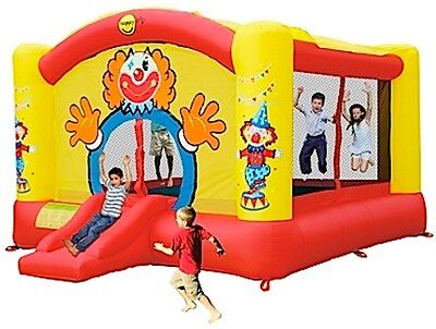 Super Clown Happy Hop Jumping Castle w/Canopy (9014N)