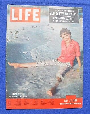 LIFE July 27, 1953: VICTORY OVER MT. EVEREST