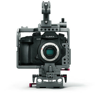 TILTA ES-T37 Panasonic GH4 GH5 Camera rig Cage supports release baseplate