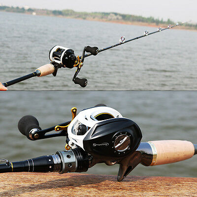 Saltwater Freshwater Fishing Rod Combos Baitcasting Bass Trout Fishing Gear Sets