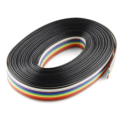 SparkFun Ribbon Cable 10 Wire 15 Feet Length High Quality Wire Cable Durable