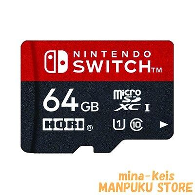 HORI Micro SD Card 64GB for Nintendo Switch from JAPAN F/S with tracking number