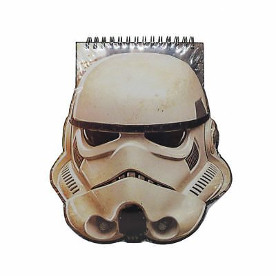 A5 Storm Trooper Shaped Note Book Star Wars Rogue One Hardback Lined School