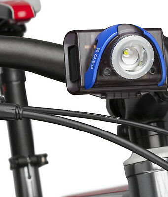 New! Led Lenser Seo B5R Led Bicycle Light Rechargeable Waterproof Bike Torch