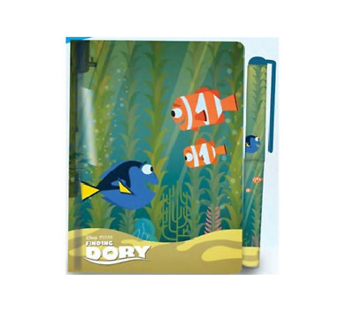 Finding Dory Water Filled Journal And Pen Set Disney Pixar Nemo Childrens Kids A
