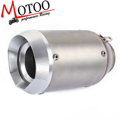 51mm Motorcycle exhaust Modified Scooter Exhaust Muffler GY6 silencer escape