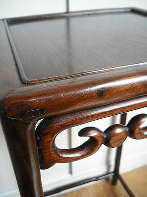 Victorian Chinese Rosewood Occasional Table [pot/stand/small/not/nest/ironwood]