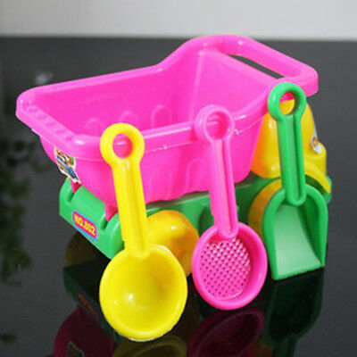 Seaside Sand Car Truck Bucket Spade Beach Play Water Tools Child Kids Toys Set