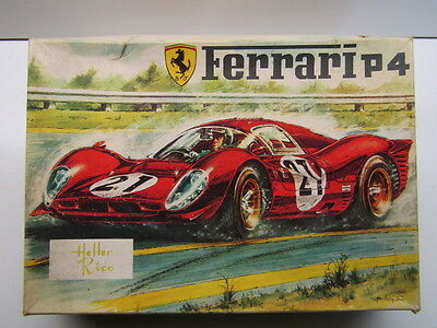 Heller Rico Vintage 1:24 Scale Ferrari 330 P4 Model Kit - Used Rare Spanish Kit