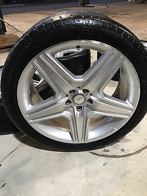 21 Inch Genuine Mercedes Benz AMG Ml350 Rims And Tyres