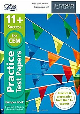 11+ Practice Test Papers for CEM - Bumper Book - Letts