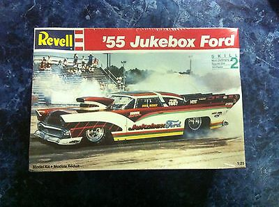 Revell '55 Jukebox Ford Pro Mod Model Car Kit New Suit Drag Slot Car 1:25