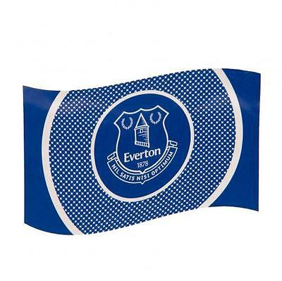 Everton Football Club Bullseye Large Flag Crest Official Gift EFC Fan Banner