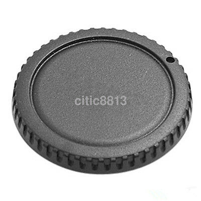 Camera Body Cover Case + Back Lens Rear Cap For Canon EOS DSLR SLR Part au^
