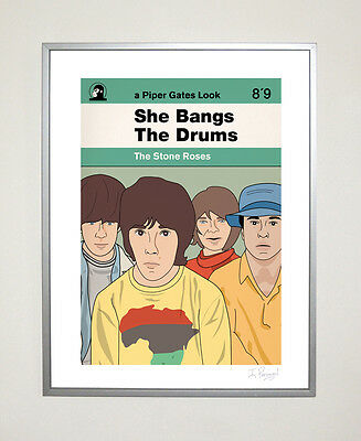 The Stone Roses Ltd Ed 30cm x 40cm Poster Indie Ian Brown