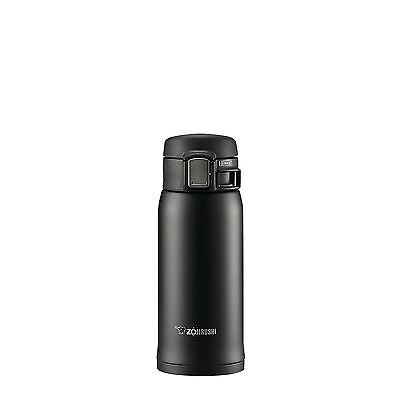Zojirushi 360ml Travel Mug Stainless Steel Vacuum Insulated - Black
