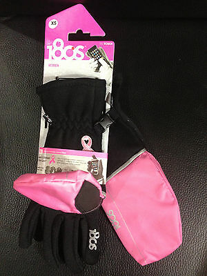 Tec Touch SCREEN accesories Gloves Size Small Lot 10, 180S Black & Pink