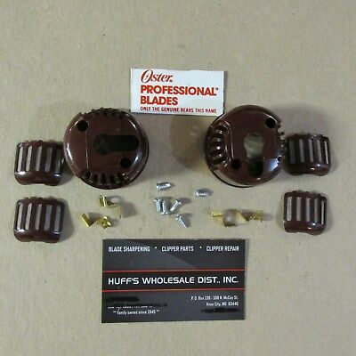 Oster Burgandy  Switch  End Cap & Filters  Part Fits A 5 , Classic 76  Clipper