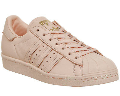 Womens Adidas Superstar 80s Trainers VAPOUR PINK EXCLUSIVE Trainers Shoes