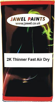 2K Acrylic And Basecoat Fast Thinner Air Dry 5 Litre Jawel Paints