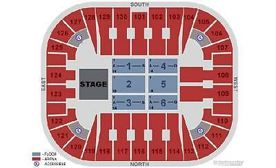 2 TOOL Tickets SOLD OUT, Fairfax,VA 5/24, Sec 102 Row B Eagle Bank