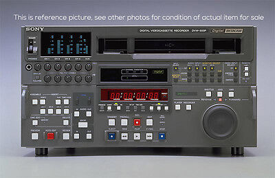 Sony DVW-500P Digital Betacam Television Broadcast Player Recorder PAL D-Beta