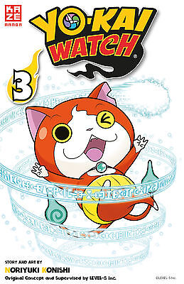 Yo-kai Watch 3 - Deutsch - KAZE - NEUWARE