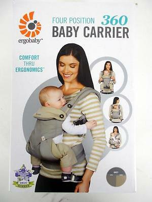 ERGOBABY 360 Four Position Baby Carrier Multiway Gray