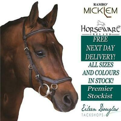 Horseware RAMBO DELUXE MICKLEM Competition Horse Riding Bridle
