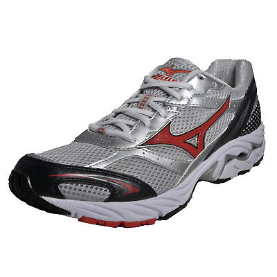Mizuno Wave Sabre Mens Running Shoes Fitness Gym Workout Trainers Silver
