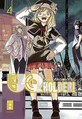 UQ Holder! 4 - Deutsch - EMA / Egmont - NEUWARE