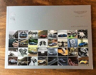 Aston Martin Centenary Brochure 1913 - 2013 - Collectors Piece