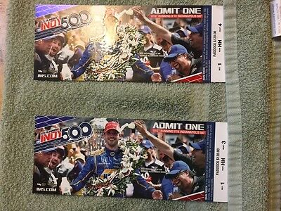 2017 Indianapolis 500 Tickets 05/28/17 (Indianapolis)