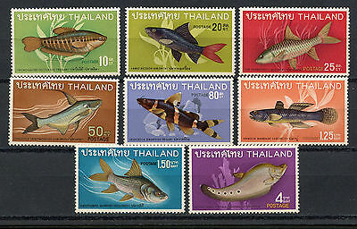 Tailandia, Stamps, Thai Fish, Thailand 1968,  Peces