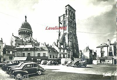 37 Tours Place Chateauneuf TBE Tractions 4 CV